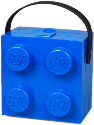 Room Copenhagen LEGO Lunch Box With Handle, Blau