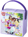 Room Copenhagen LEGO Friends Lunch Box with Handle, Lavendel