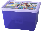 Room Copenhagen LEGO Friends Storage Box L, Lila