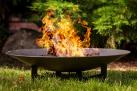 NOMLILO Yuma - Ciotola di fuoco - Diametro: 80 cm - Nero