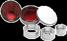ibili IB-729700 Sechseckig, 6er Set