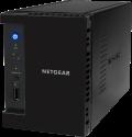 NETGEAR ReadyNAS 212 - Server NAS - 2x 1 TB Disco rigido - Nero