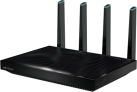 Netgeare D8500 AC5300 Nighthawk X8 Smart - Tri-Band WiFi Router - Nero