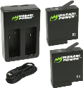 Wasabi Power KIT - Caricatore con batteria - per GoPro Hero5 - Noir