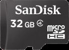 SanDisk microSDHC - Carte mémoire - 32 Go - noir
