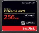 SanDisk Extreme PRO CompactFlash - Scheda di memoria - 256 GB - nero