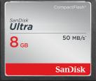 SanDisk Ultra CompactFlash - Speicherkarte - 8 GB - Schwarz / Grau