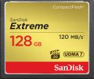SanDisk Extreme CompactFlash - Scheda di memoria - 128 GB - nero / oro