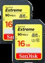 SanDisk Extreme SDHC 2-Pack
