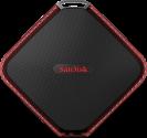 SanDisk Extreme 510 - Disco rigido esterno - Capacità 480 GB - Nero/Rosso