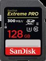 SanDisk ExtremePro 300MB/s SDXC 128GB U3 - 128 GB - Scheda di memoria - Nero