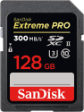 SanDisk ExtremePro 300MB/s SDXC 128GB U3 - 128 GB - Speicherkarte - Schwarz