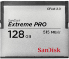 Sandisk CFast ExtremePro 525MB/s 128GB - Scheda di memoria - 128 GB - Grigio