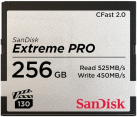 SanDisk Extreme PRO - CompactFlash Speicherkarte - 256 GB - Grau