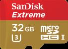 SanDisk Extreme microSD UHS-I - Speicherkarte - 32 GB - Gold / Rot
