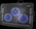 CROWN MICRO CMLC-1043T - Ventilateur - Pour ordinateurs portables jusqu'à 17 - Noir/Bleu