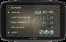 TomTom GO Professional 6250 - Navigatore per i veicoli di grandi dimensioni - Touchscreen 6 (15 cm) - Nero