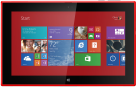 Nokia Lumia 2520, rot