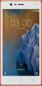 NOKIA 3 TA-1032 DS  - Smartphone - 16 GB - Copper white