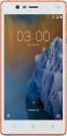 NOKIA 3 TA-1020 SS  - Smartphone - 16 GB - Copper white