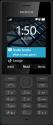 Nokia 150 - Mobiltelefon - Dual-SIM - Schwarz