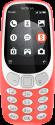 NOKIA 3310 3G - Mobiltelefon - Dual-SIM - Rot