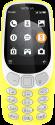 NOKIA 3310 3G - Mobiltelefon - Dual-SIM - Gelb
