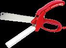 industex Scissors Knife - Schere - 2 in 1 - Rot
