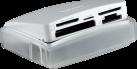 Lexar 25-in-1 - Kartenleser - USB 3.0 Anschluss - Silber