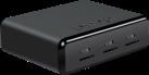 Lexar Professional Workflow UR1 - Kartenleser - 3 Steckplätzen - Schwarz