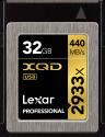Lexar Professional 2933x XQD 2.0 - Speicherkarte - Kapazität 32 GB - Schwarz