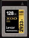 Lexar Professional 2933x XQD 2.0 - Speicherkarte - Kapazität 128 GB - Schwarz