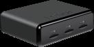 Lexar Professional Workflow UR2 - Kartenleser - 3 Steckplätzen - Schwarz