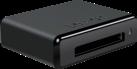 Lexar Professional Workflow CR2 - Kartenleser - Thunderbolt / USB 3.0 Anschluss - Schwarz
