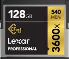 Lexar Professional 3600x CFast 2.0 - Speicherkarte - Kapazität 128 GB - Schwarz