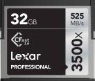 Lexar Professional 3500x CFast 2.0 - Speicherkarte - Kapazität 32 GB - Schwarz