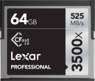 Lexar Professional 3500x CFast 2.0 - Speicherkarte - Kapazität 64 GB - Schwarz