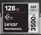 Lexar Professional 3500x CFast 2.0 - Speicherkarte - Kapazität 128 GB - Schwarz