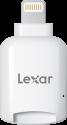 Lexar microSD - Kartenleser - Lightning-Anschluss - Weiss