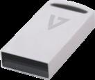 VIDEOSEVEN USB 3.0 Scheda di memoria - 128 GB - Argento