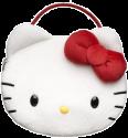 """bigben """"Hello Kitty""""-Plüschtasche - für Nintendo 3DS / Nintendo DSi – Weiss"""
