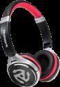 Numark HF-150 - Cuffie per DJ - 20 - 20000 Hz - Nero/Rosso