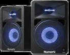 Numark N-Wave 580L - Monitor attivo a 2 vie - 40 W - Nero