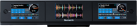 Numark NS7 II Display - DJ Displaysystem - Drei Farbdisplays - Schwarz
