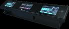 Numark Dashboard - DJ Displaysystem - Drei Farbdisplays - Schwarz