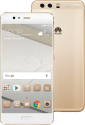 HUAWEI P10 Plus - Android Smartphone - 128 GB Speicher - Gold