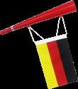 Excellent Clothes Trompette fan avec drapeau - Allemagne