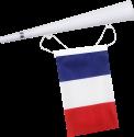 Excellent Clothes Fan tromba con bandiera - Francia
