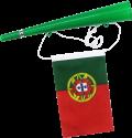 Excellent Clothes Fan tromba con bandiera - Portogallo