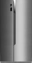 Hisense SBS 518 A+ EL - Side by side Réfrigérateur - A+ - Inox